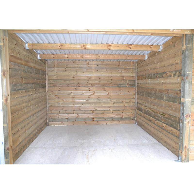 Boxes curies en bois pas cher construire box chevaux sur mesure - Abri chevaux pas cher ...