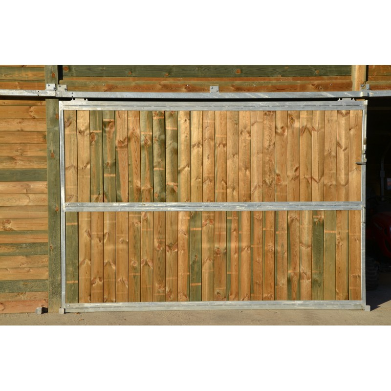 Porte de garage coulissante bois 300 x 200 20171005115034 for Porte de garage sectionnelle 220 x 200