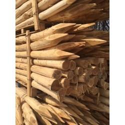 Pieux acacias ronds
