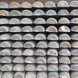 Demi-rondins (chanfreiné des 2 côtés)