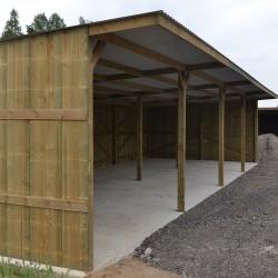 Hangars de stockage éco 1 pente